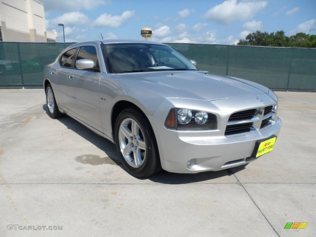 Bright Silver Metallic Dodge Charger