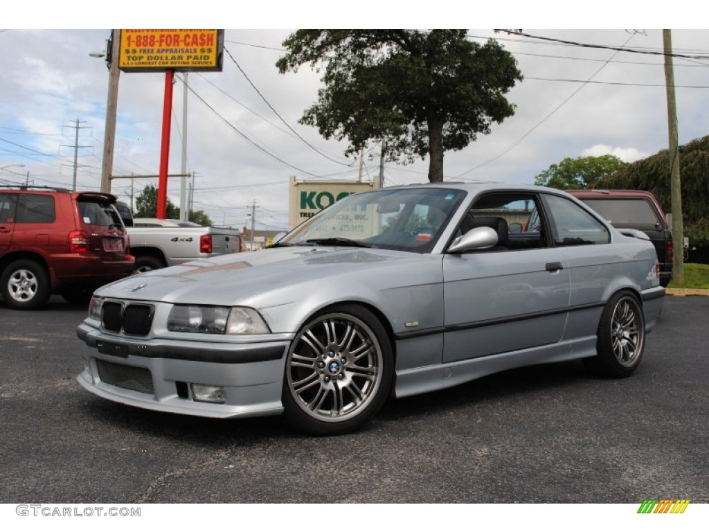 1997 arctic silver metallic bmw 3 series 328is coupe 53005516 car color galleries. Black Bedroom Furniture Sets. Home Design Ideas