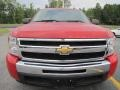 2009 Victory Red Chevrolet Silverado 1500 LS Crew Cab  photo #2