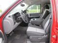 2009 Victory Red Chevrolet Silverado 1500 LS Crew Cab  photo #9