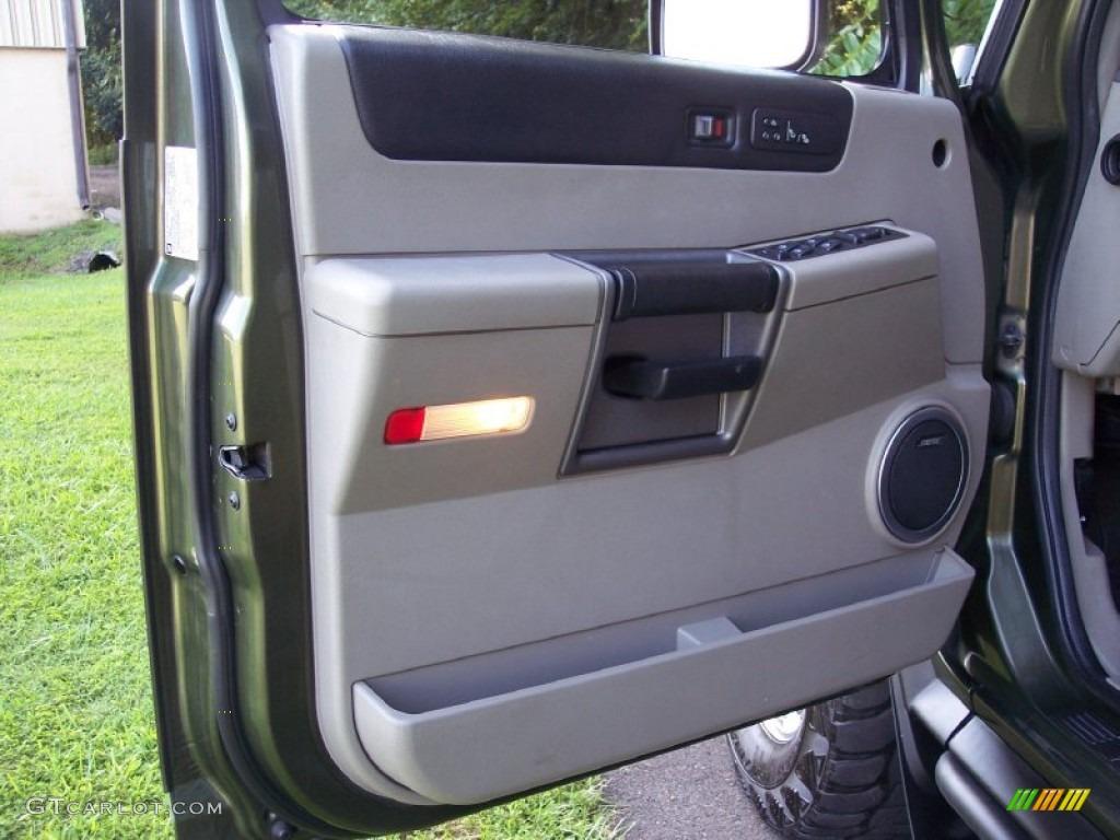 2004 Hummer H2 Suv Wheat Door Panel Photo 53059658