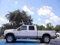 2012 White Platinum Metallic Tri-Coat Ford F250 Super Duty King Ranch Crew Cab 4x4  photo #2