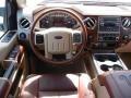 2012 White Platinum Metallic Tri-Coat Ford F250 Super Duty King Ranch Crew Cab 4x4  photo #7