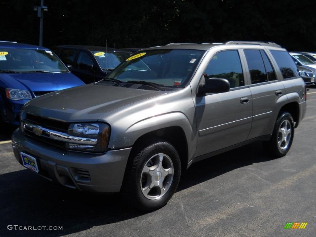 2008 Desert Brown Metallic Chevrolet Trailblazer Ls 4x4