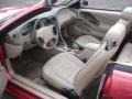 2001 Laser Red Metallic Ford Mustang V6 Convertible  photo #13