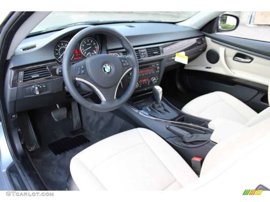 Cream Beige Interior 2011 Bmw 3 Series 328i Xdrive Coupe