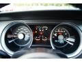 2012 Ford Mustang Charcoal Black/Black Interior Gauges Photo