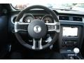 2012 Ford Mustang Charcoal Black/Black Interior Steering Wheel Photo