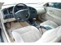 Neutral Beige 2001 Chevrolet Monte Carlo Interiors