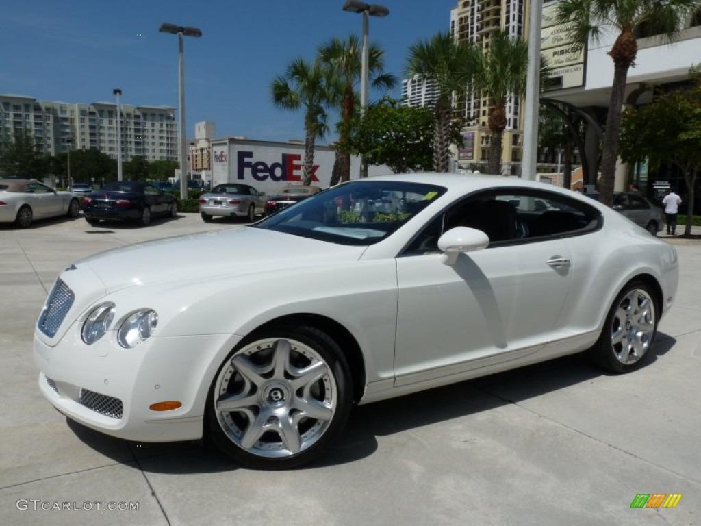 2007 Glacier White Bentley Continental GT Mulliner 53063999