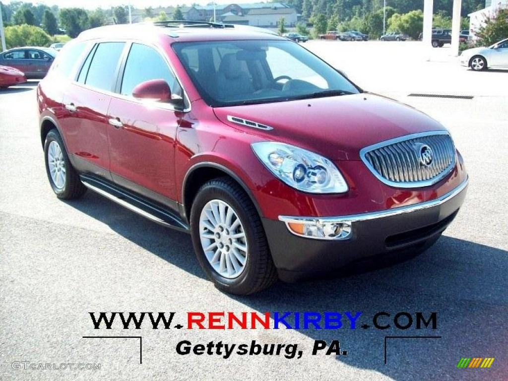 Buick Enclave 2014 Red - Viewing Gallery