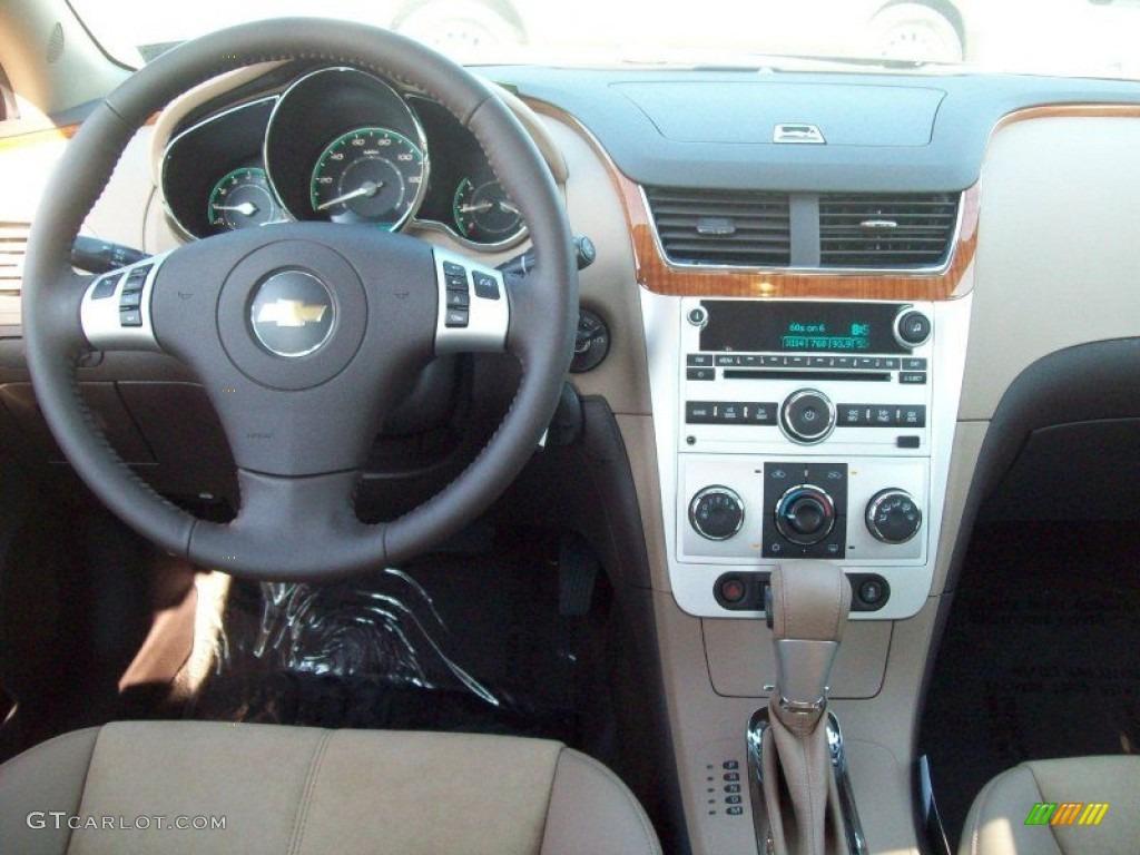 2012 Chevrolet Malibu Lt Cocoa  Cashmere Dashboard Photo