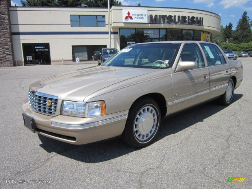 1998 gold fire mist metallic cadillac deville sedan 53117084. Cars Review. Best American Auto & Cars Review