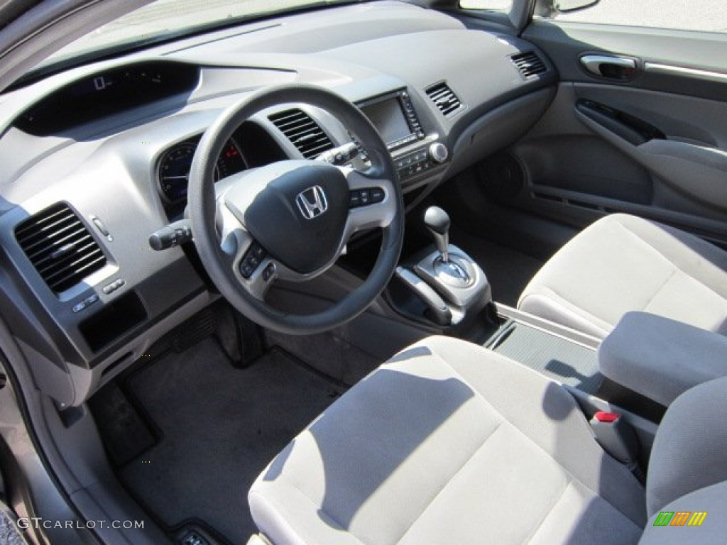 Gray Interior 2006 Honda Civic Ex Sedan Photo 53128209