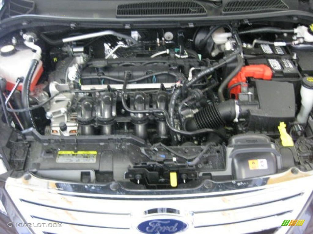 2012 ford fiesta se sedan 1 6 liter dohc 16 valve ti vct duratec 4 cylinder engine photo. Black Bedroom Furniture Sets. Home Design Ideas