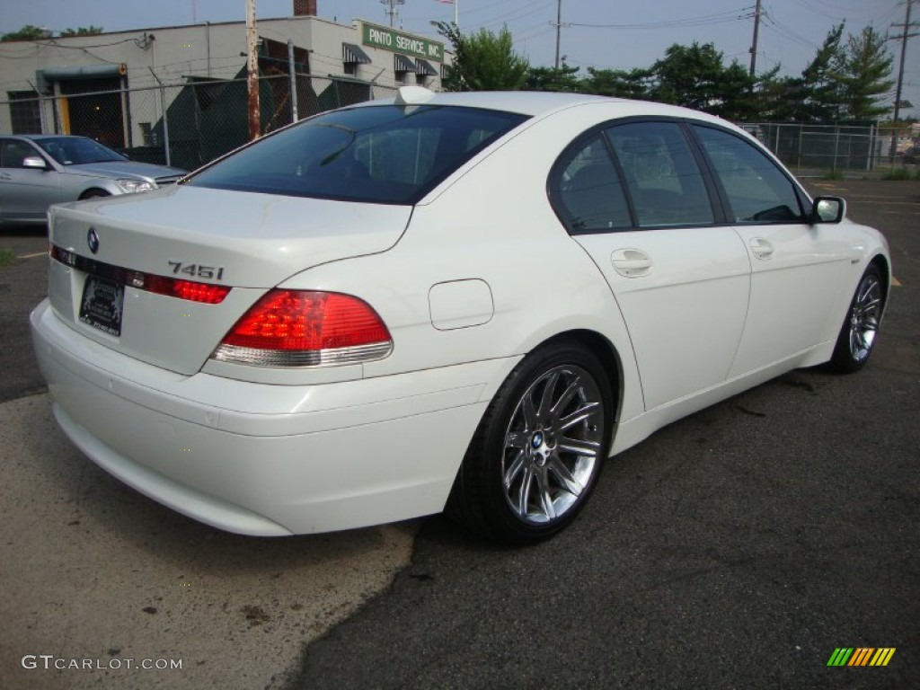 Alpine White 2004 BMW 7 Series 745i Sedan Exterior Photo 53130541