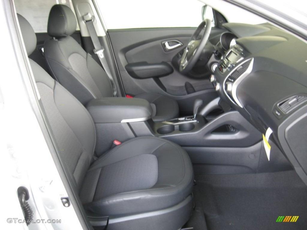 Black Interior 2012 Hyundai Tucson Gls Photo 53130730