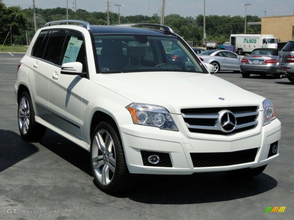 arctic white 2012 mercedes benz glk 350 exterior photo
