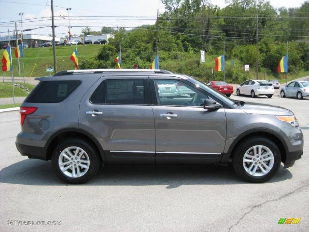 Sterling gray metallic 2012 ford explorer xlt 4wd exterior - Ford explorer exterior dimensions ...