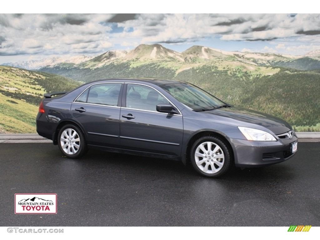 2007 graphite pearl honda accord lx v6 sedan 53117126 for 2007 honda accord lx sedan