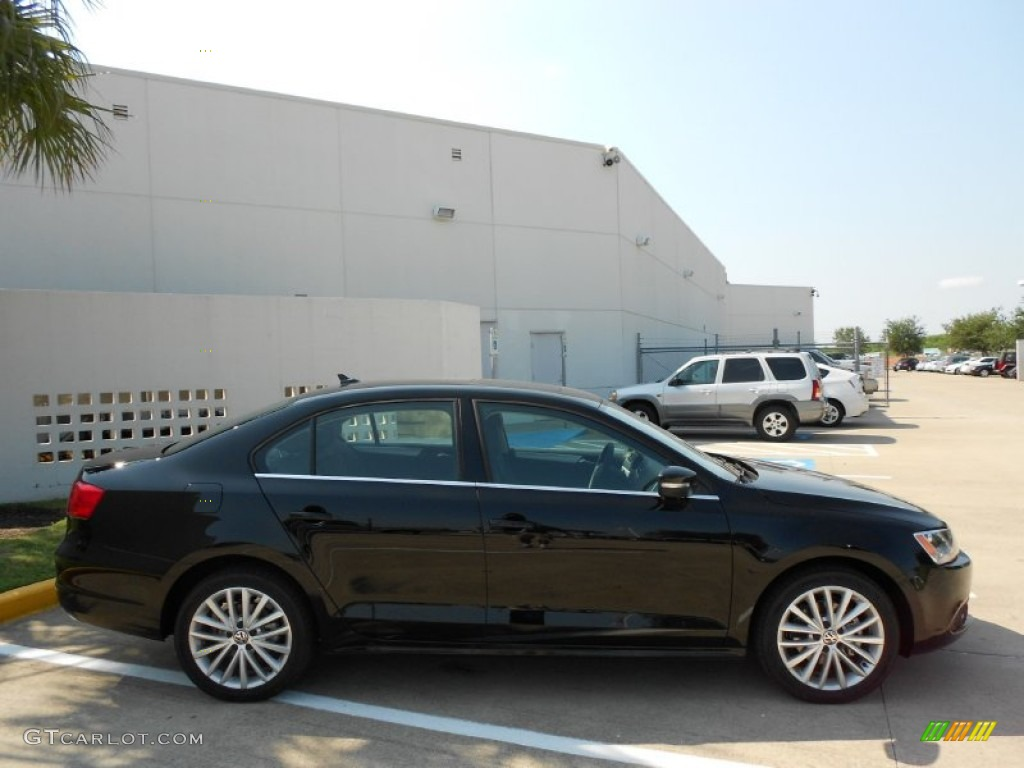 black 2012 volkswagen jetta sel sedan exterior photo 53137403. Black Bedroom Furniture Sets. Home Design Ideas
