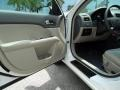 2010 White Platinum Tri-coat Metallic Ford Fusion Hybrid  photo #16