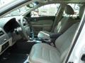 2010 White Platinum Tri-coat Metallic Ford Fusion Hybrid  photo #18