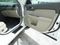 2010 White Platinum Tri-coat Metallic Ford Fusion Hybrid  photo #20
