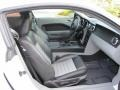 Charcoal Black/Dove Interior Photo for 2008 Ford Mustang #53149228