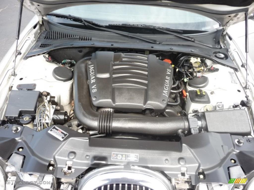 2001 Jaguar S-Type 4.0 4.0 Liter DOHC 32-Valve V8 Engine ...
