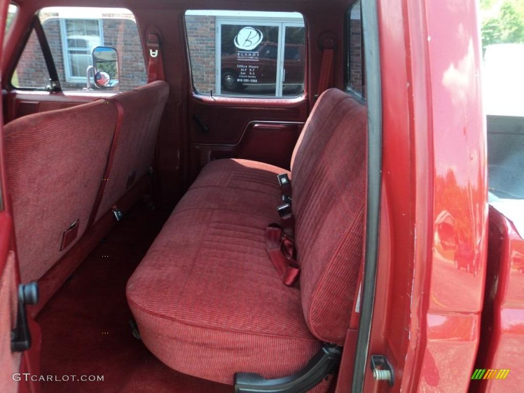 1990 Ford F350 XLT Crew Cab 4x4 Interior Photo 53153004