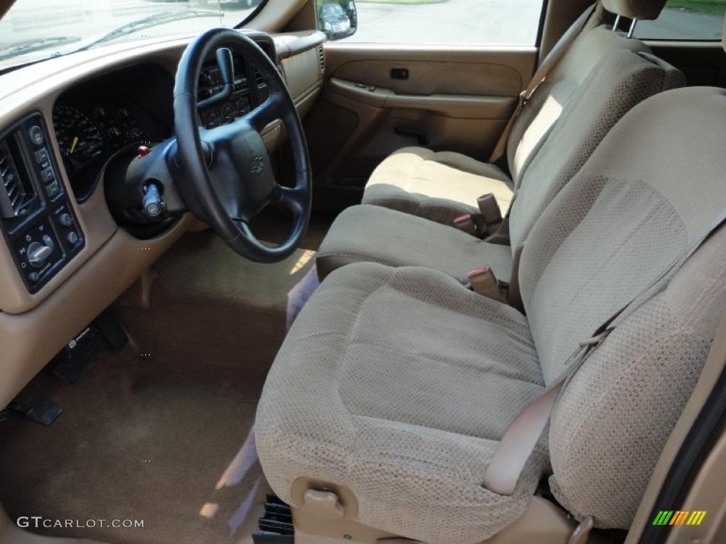 Medium Oak Interior 1999 Chevrolet Silverado 1500 Ls Extended Cab 4x4 Photo 53159459