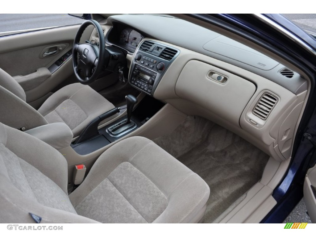 Marvelous Ivory Interior 2002 Honda Accord EX Coupe Photo #53162849