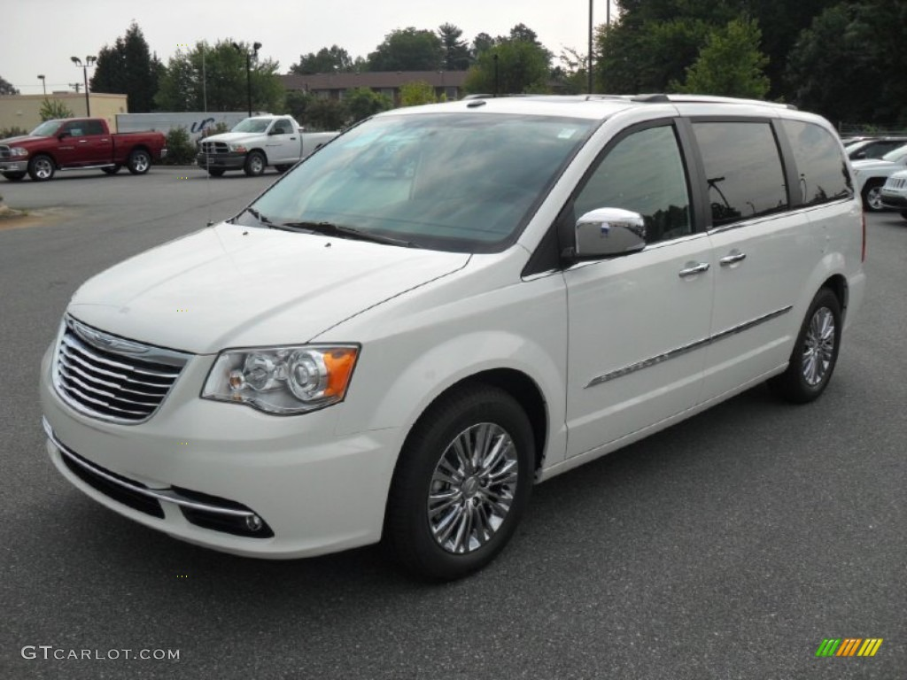 2011 stone white chrysler town country limited 53117660 for Stone s town country motors