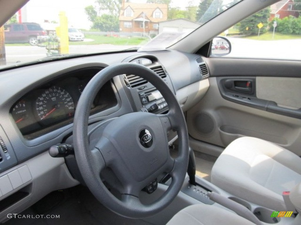 2005 kia spectra ex sedan interior photo 53165814. Black Bedroom Furniture Sets. Home Design Ideas