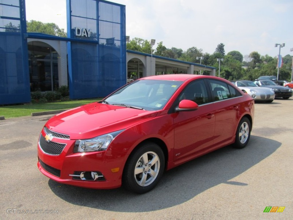 2012 Victory Red Chevrolet Cruze Lt Rs 53171552 Gtcarlot Com Car Color Galleries