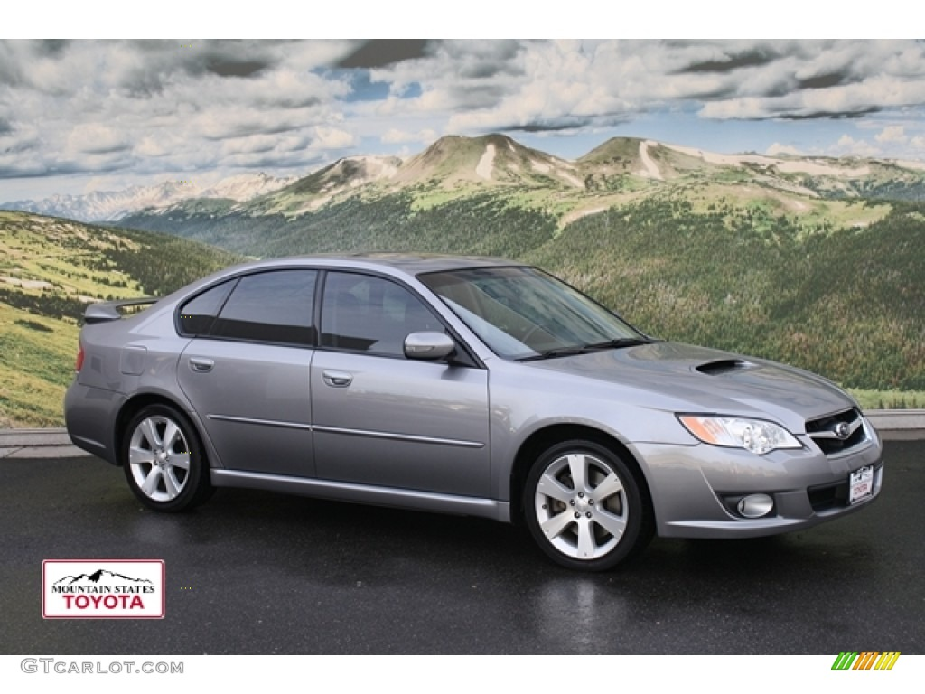 2008 quartz silver metallic subaru legacy 2 5 gt limited sedan 53171420 car. Black Bedroom Furniture Sets. Home Design Ideas