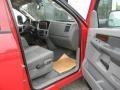 2009 Flame Red Dodge Ram 3500 SLT Quad Cab 4x4 Chassis Dump Truck  photo #16