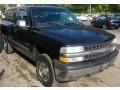 2002 Onyx Black Chevrolet Silverado 1500 LS Regular Cab 4x4  photo #9