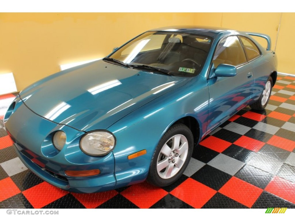1994 torquoise pearl metallic toyota celica gt coupe. Black Bedroom Furniture Sets. Home Design Ideas