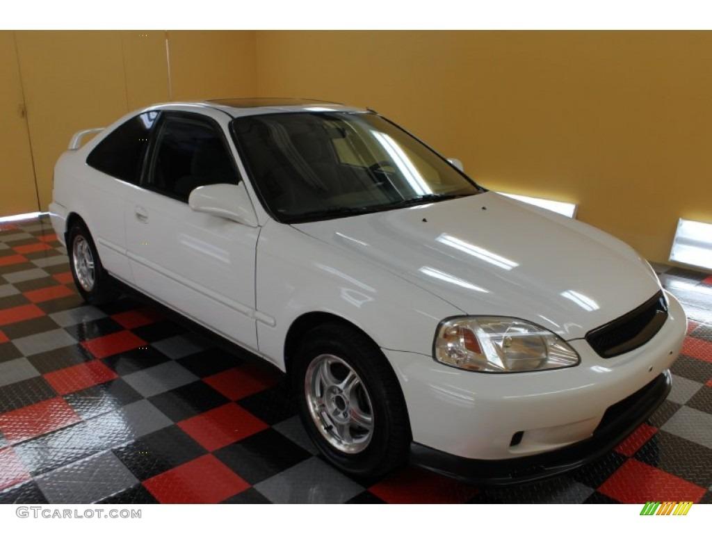 2000 taffeta white honda civic ex coupe 53171848 for 2000 honda civic ex specs