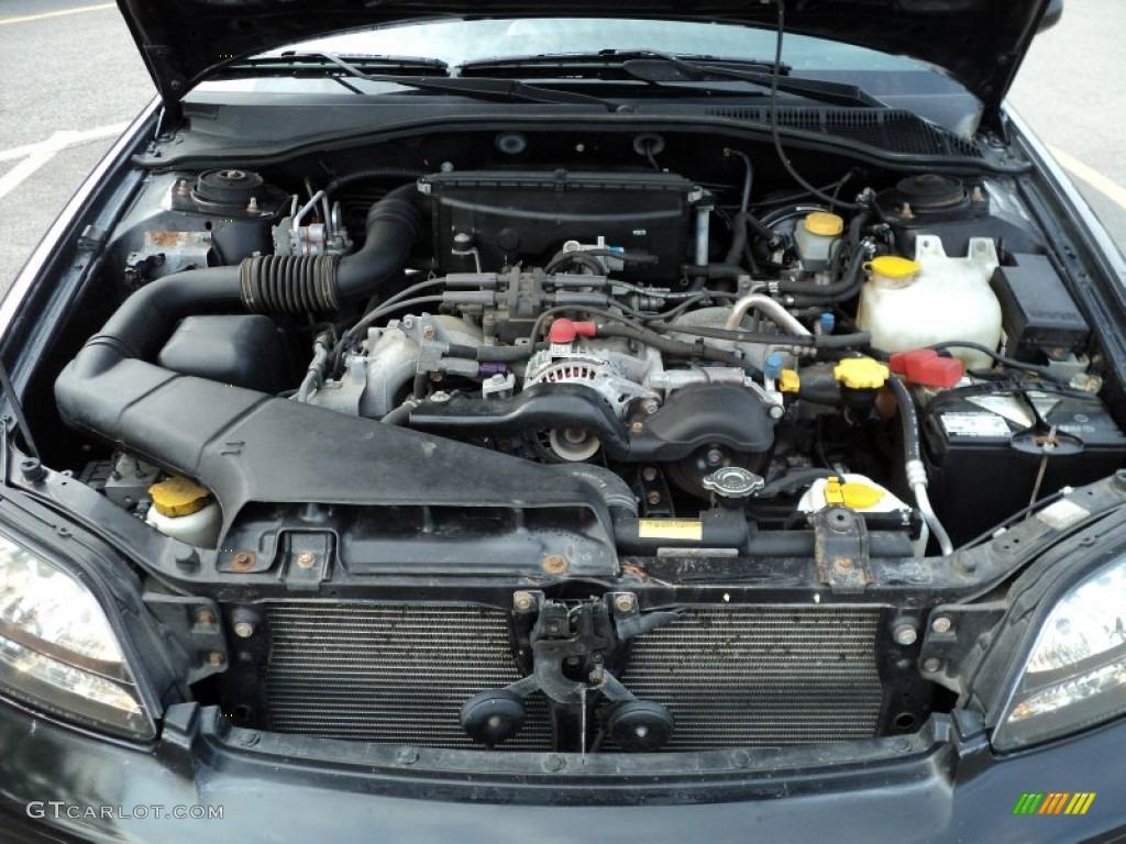 2000 Subaru Legacy Gt Wagon 2 5 Liter Sohc 16