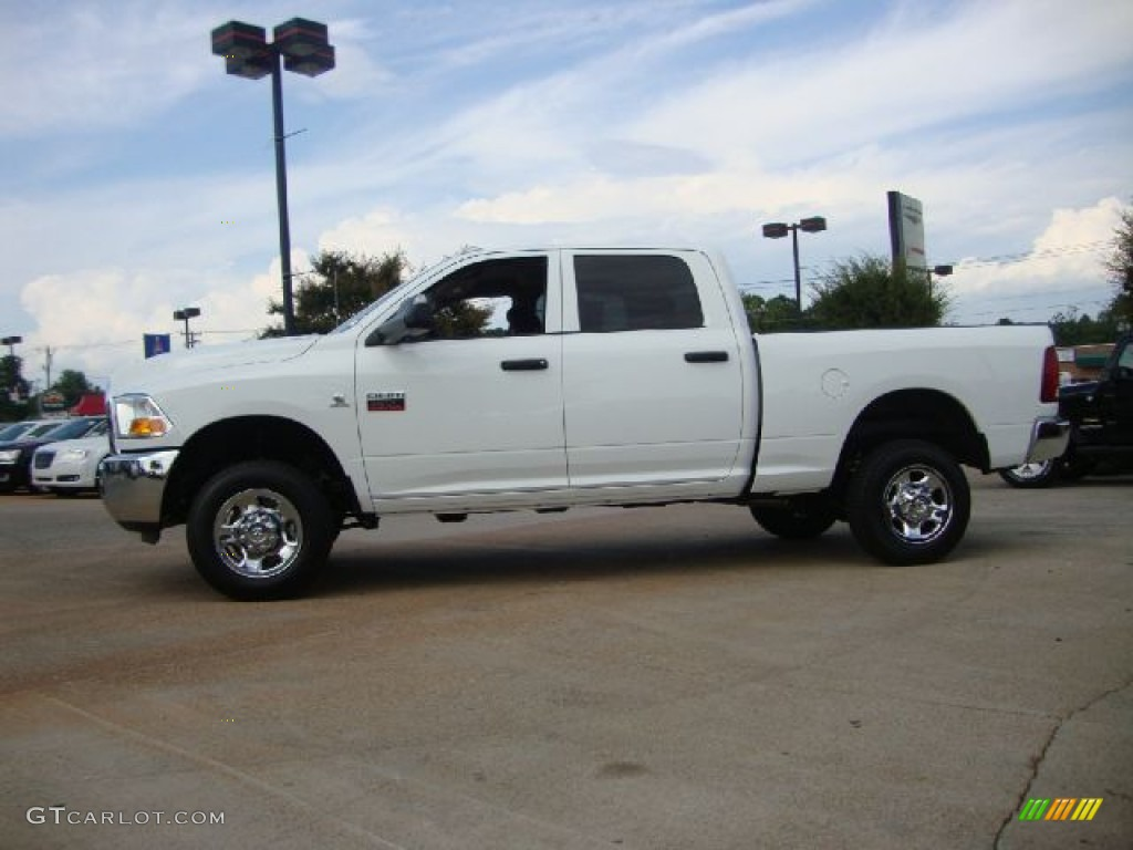 bright white 2012 dodge ram 2500 hd st crew cab 4x4 exterior photo 53231886. Black Bedroom Furniture Sets. Home Design Ideas