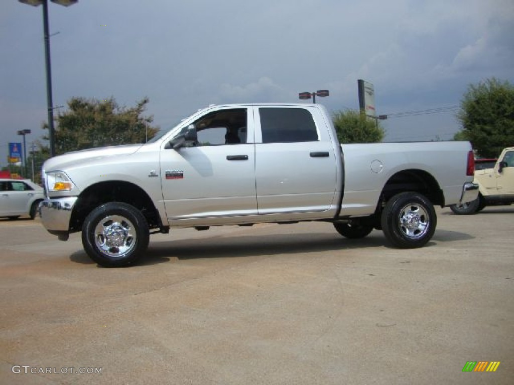 bright silver metallic 2012 dodge ram 2500 hd st crew cab 4x4 exterior photo 53233380. Black Bedroom Furniture Sets. Home Design Ideas