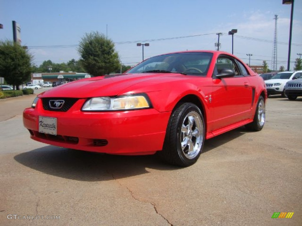 Performance Red Ford Mustang