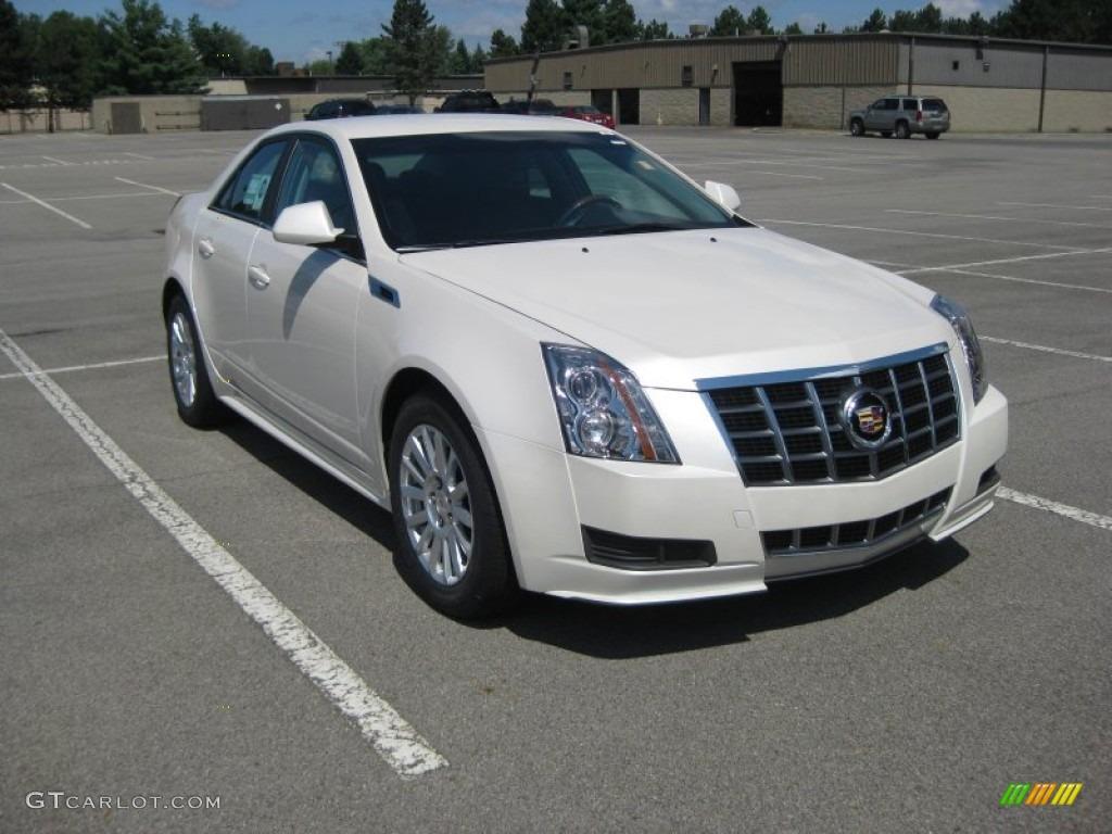 2012 Cadillac CTS White Diamond