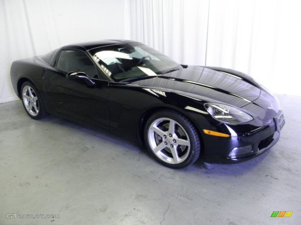 black 2005 chevrolet corvette coupe exterior photo. Black Bedroom Furniture Sets. Home Design Ideas