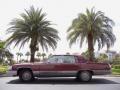 Maple Red Metallic 1990 Cadillac Brougham d'Elegance