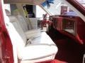 1990 Brougham d'Elegance Red/White Interior