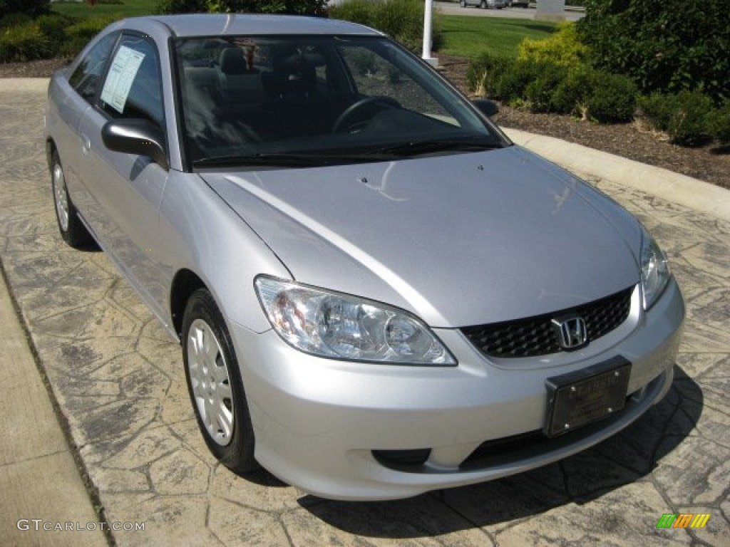 2005 satin silver metallic honda civic lx coupe 53247701